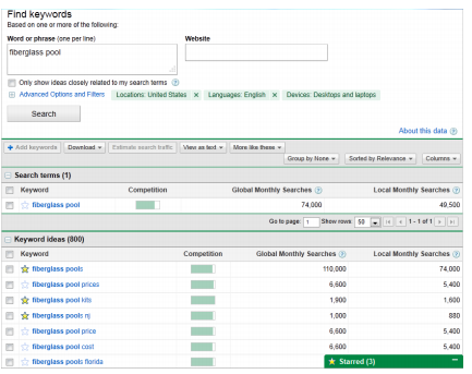 Search Engine Optimisation Keyword Finder Tools